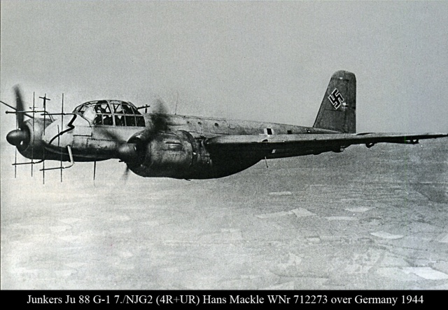 JU-88 Johnnes Mäckle, or Maeckle 's plane